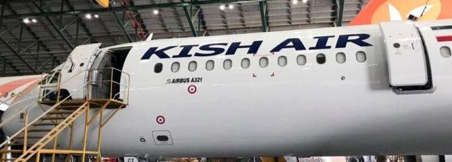 Airbus A321 Rejoins Kish Air Fleet