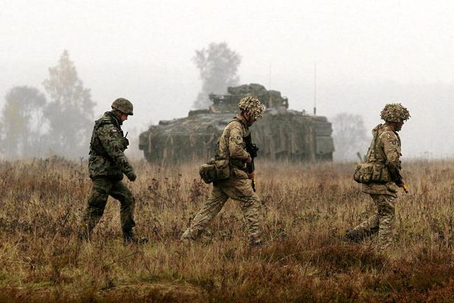 NATO seeks troops to deter Russia on eastern flank