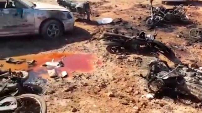 Islamic State car bomb kills more than 50 in northwest Syria