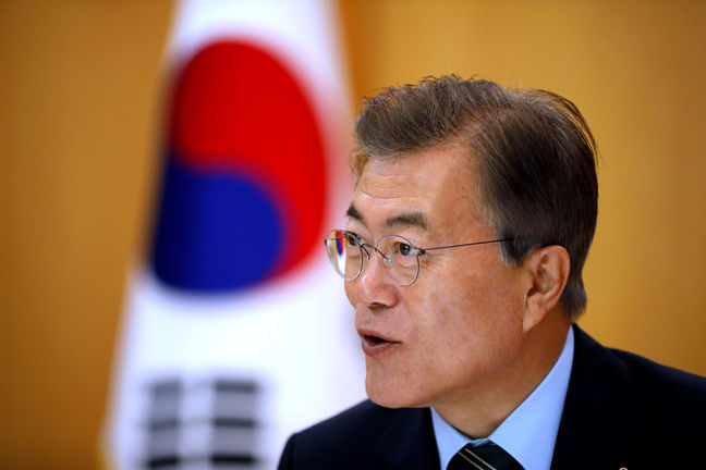 South Korea to Prevent War at All Costs, President Moon Says