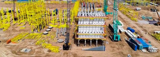 Petrochem Project in SW Near Completion