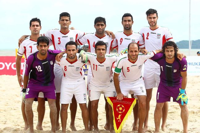 Iran defeats US at Beach Soccer Intercontinental Cup