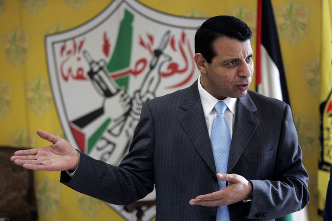 Abbas Rival Dahlan Plans Comeback Through Gaza Restoration