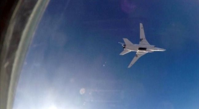Russia uses Iran as base to bomb Syrian militants for first time