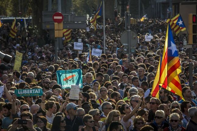 Catalan Separatists Plot Response to Spain's Shock and Awe