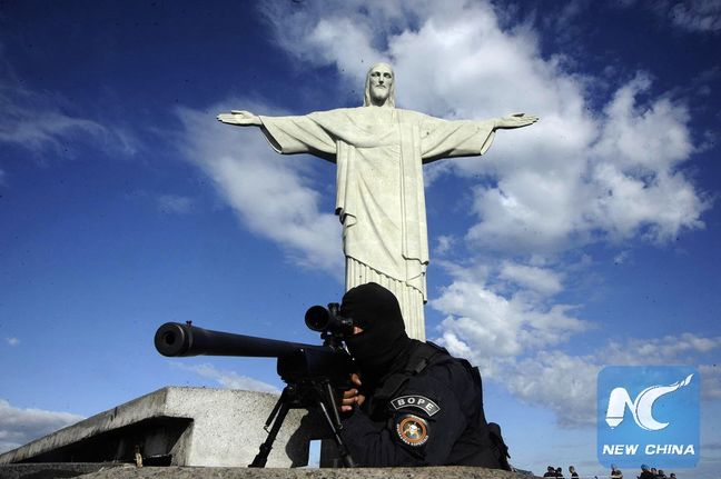 Brazil Deploys 85,000 Security Personnel to Ensure Rio Olympic Security