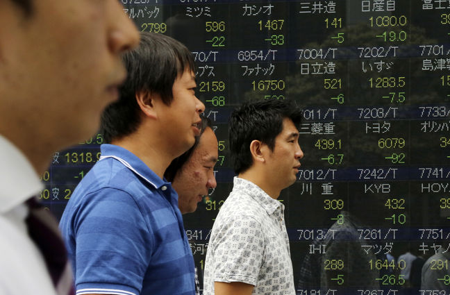 Asia stocks gain, dollar sags on Fed governor's dovish comments