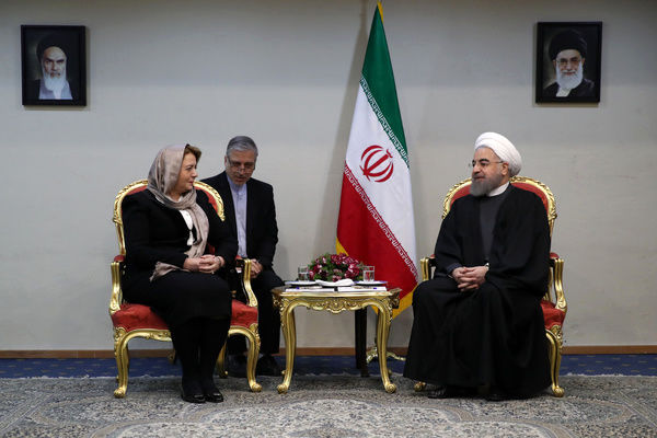 President: Iran to continue support for Syrian people