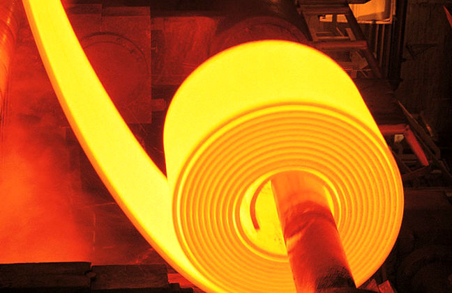 Import Prices for Hot rolled coil Inch Down