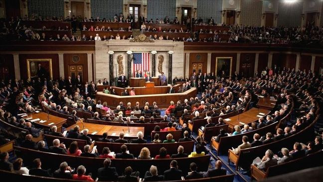 'Political issue' rises in US Congress over anti-Iran bill