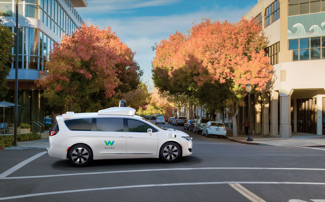 Fiat Delivers Alphabet's Waymo 100 Self-Driving Hybrid Minivans