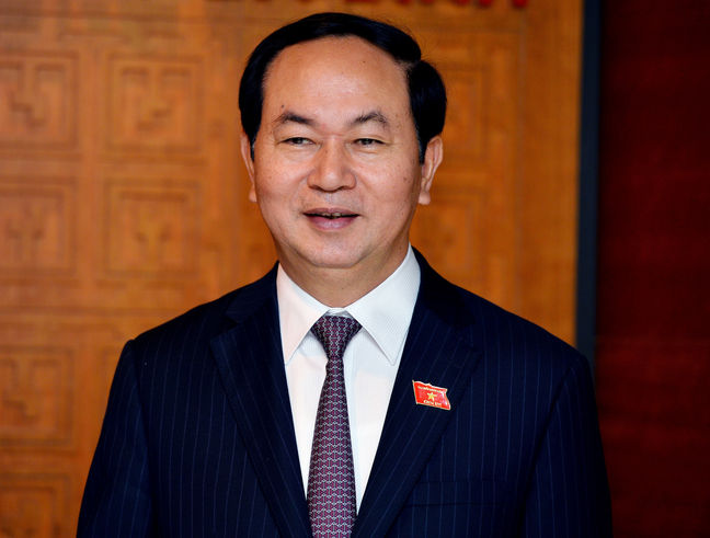 Vietnamese president: Tehran, Hanoi support promotion of peace