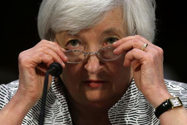 Stability concerns focus at Fed ahead of Yellen speech