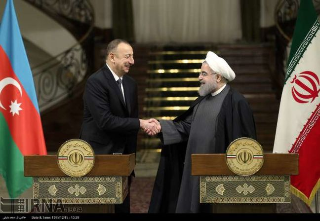 Rouhani: No limit for Tehran-Baku enhanced economic relations