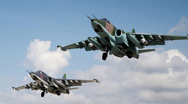 Russians bombing Syrian rebels near Hama, Syrian military source says