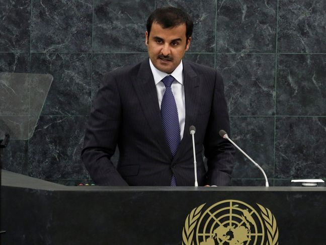Qatar's emir, a U.S. ally, assails Obama's Syria policy