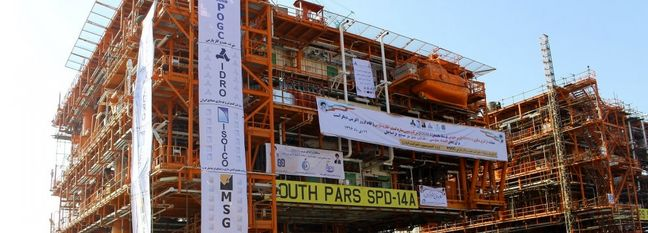 South Pars Phase 14 Reports Progress