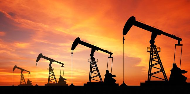 Oil prices rebound on weaker dollar, supportive China manufacturing data