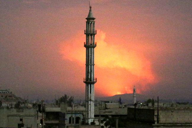 At Least 26 Killed in Missile Attack on Syria, Iranian Positions