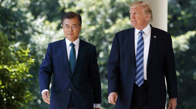 Trump and Moon Agree to Show Muscle After North Korea Nuke