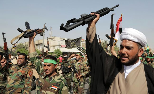 Iraq's Shi'ite militias say offensive west of Mosul imminent