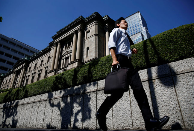 BOJ overhauls policy focus, sets target for government bond yields