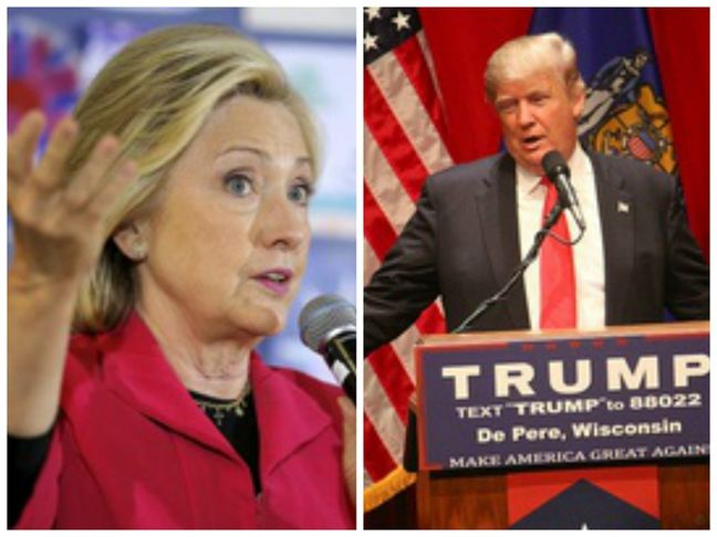 Trump, Clinton court Ohio as White House race enters final 2 months
