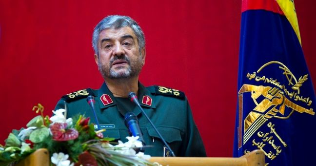 Laughter at Trump speech a sign of U.S. isolation: Iran guards chief
