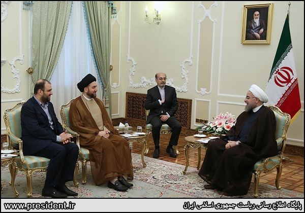 Rouhani: Iran to continue support for Iraq to fight terrorism