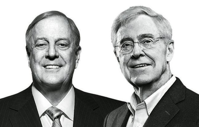 Powerful Koch brothers rebuff big donors' calls to back Trump for White House