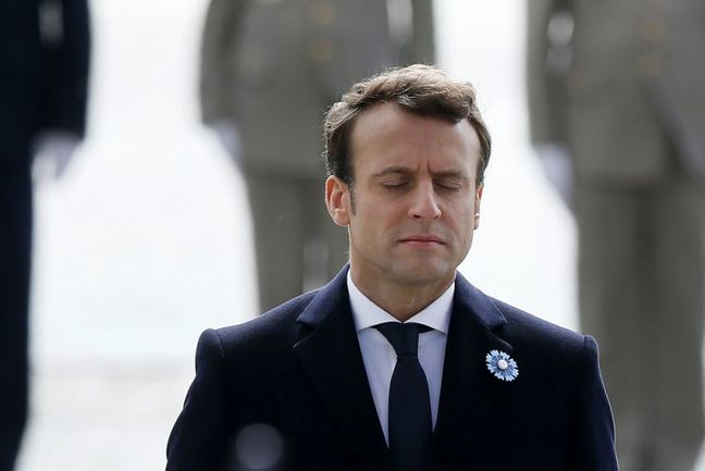 Macron Takes Charge of Divided France as Youngest President