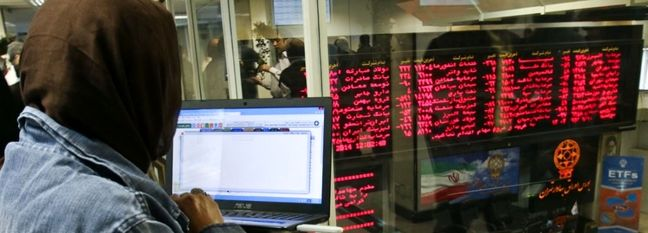 Tehran Stocks Tumble Amid Selloff Rush