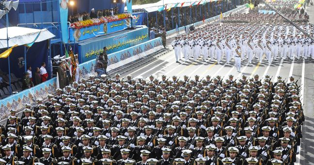 Iran parades newest weapons at time of Persian Gulf tension with U.S.