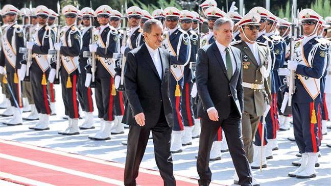 Armenia prime minister in Iran for talks