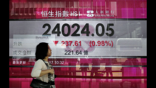 Asian Shares Mixed, Korea Advances as Calm Returns