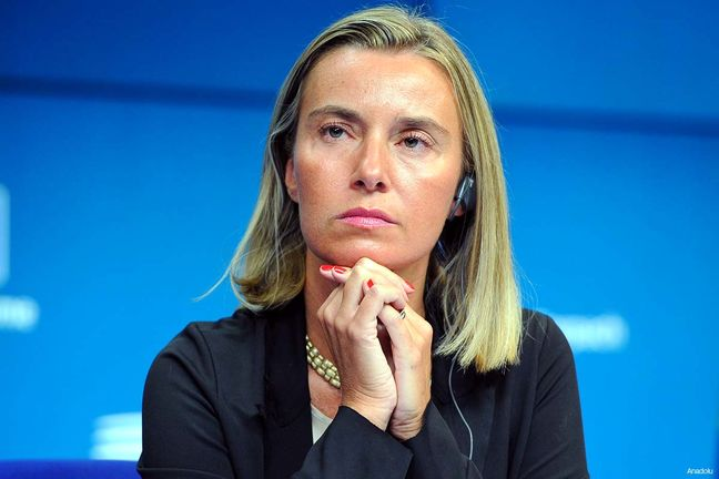 Mogherini says meeting with Zarif beginning of EU work on Syria