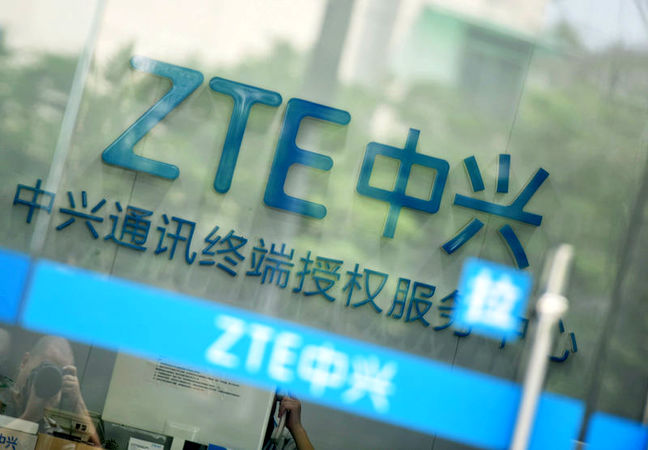 Trump defends intervention to help China telecom company ZTE