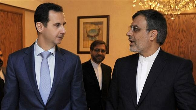 Iran deputy FM discusses bilateral ties, anti-terror fight with Syria officials
