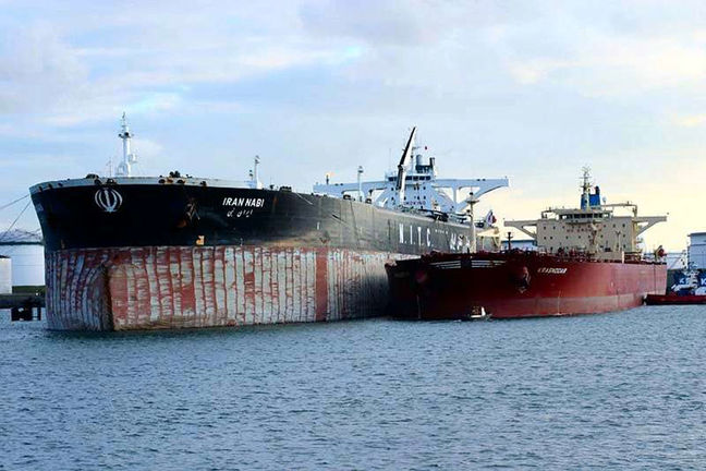 12 Iranian tankers hired by int'l oil companies: Official