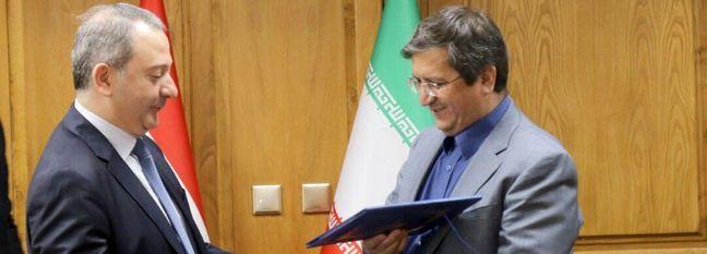 Syria Central Bank Chief Meets Hemmati