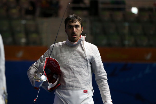 Iranian sabre fighter among 8 world tops