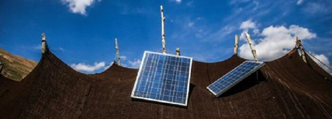Solar Power Helping Nomads