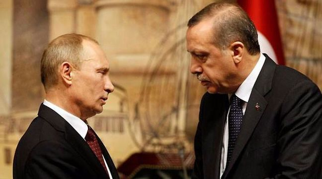 Putin, Erdogan Vow to Step Up Terror Fight on Envoy's Death