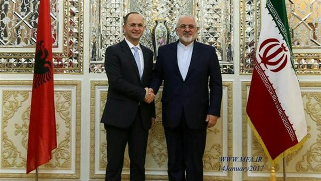 Albanian FM: Conditions set for broadening of ties with Iran
