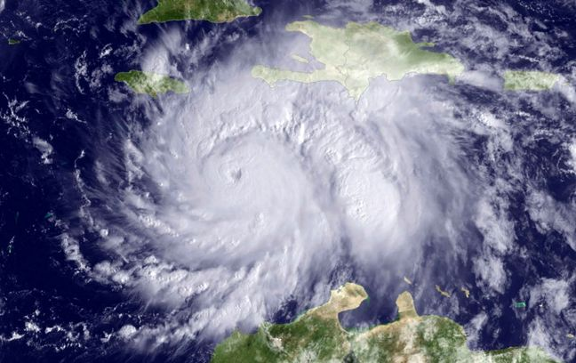 Hurricane Matthew hits Haiti and Cuba, takes aim at Bahamas, U.S.