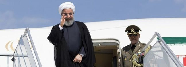 Rouhani Due in Turkey