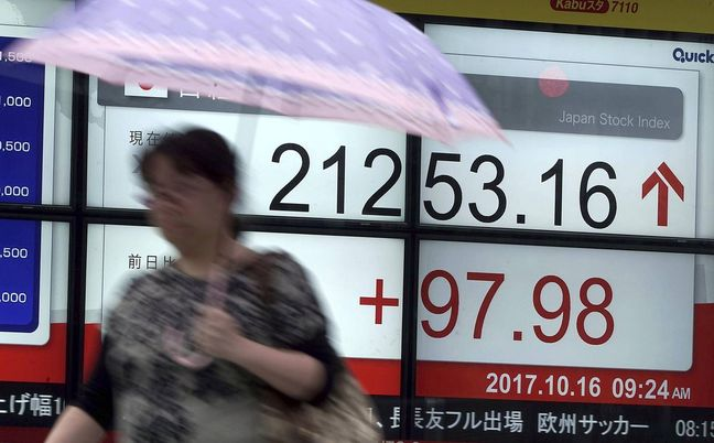 China data boosts world stocks and commodities, oil jumps