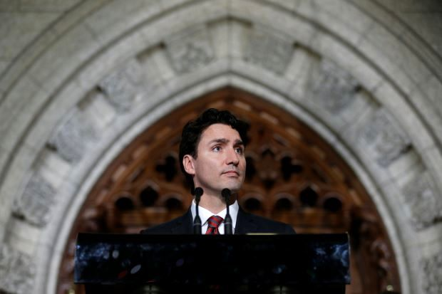 Fearing protectionism, Canada's Trudeau reaches out to U.S. Congress