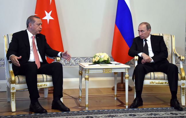 Erdogan Rekindles Russian Ties as Putin Eyes Turkey Investment