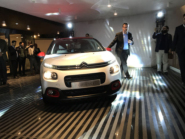 SAIPA Unveils Citroen C3 New Model in Tehran Bash